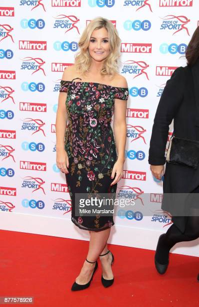 Helen Skelton attends the Pride of Sport awards at Grosvenor House on November 22 2017 in London England