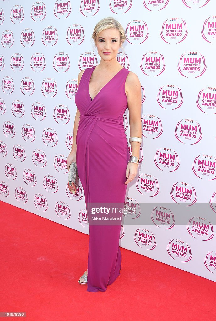 Helen Skelton attends the Tesco Mum of the Year Awards at The Savoy Hotel on March 1, 2015 in London, England.