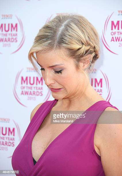 Helen Skelton attends the Tesco Mum of the Year Awards at The Savoy Hotel on March 1 2015 in London England