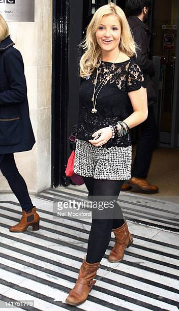 Helen Skelton sighted at BBC Radio Studios on March 23 2012 in London England