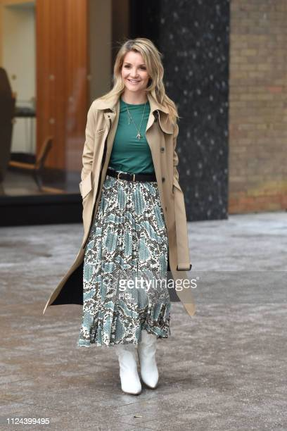 Helen Skelton sighting on January 24 2019 in London England