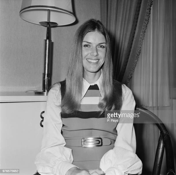 Helen Stewart wife of racing driver Jackie Stewart UK 15th October 1973