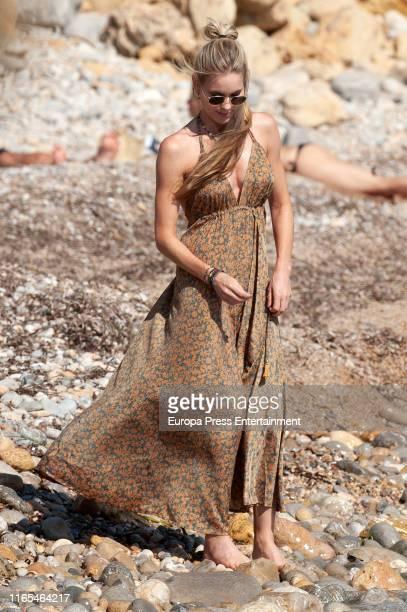 Helen Svedin is seen on July 16 2019 in Ibiza Spain