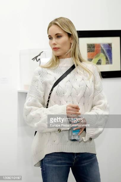 Helen Swedin attends ARCO Art Fair 2020 at Ifema on February 27 2020 in Madrid Spain