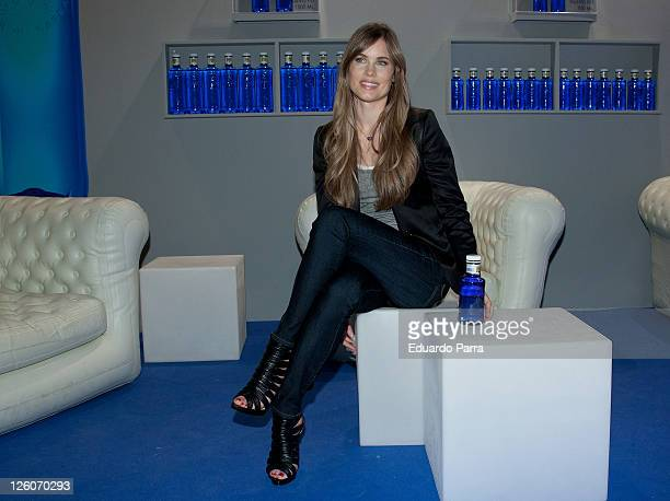 Helen Swedin attends the Solan de Cabras stand during the Cibeles Madrid Fashion Week A/W 2011 at Ifema on February 21 2011 in Madrid Spain