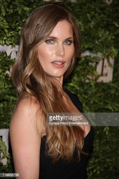 Helen Swedin attends Vogue Joyas Awards 2011 at Madrid Stock Market on June 16 2011 in Madrid Spain