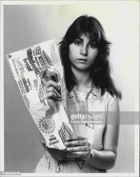 Helen Taikilis with Plastic Bread Wrappers that are being cut in stores to win lucky prizesAn Epping reader has gently taken me to task over my...