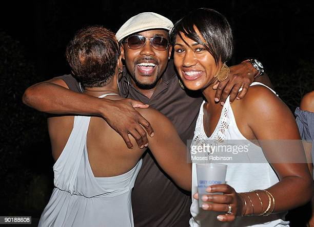 Helen Vaughn Will Packer and actress Teri Vaughn attend Teri J Vaughn's birthday party at a Private Residence on August 29 2009 in Atlanta Georgia