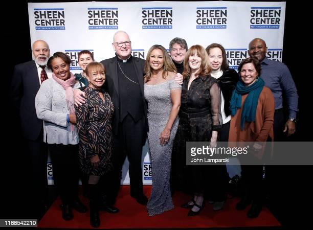 Helen Williams Cardinal Dolan Vanessa Williams Liz Curtiss and friends attend Sheen Center presents Vanessa Williams Friends thankful for Christmas...
