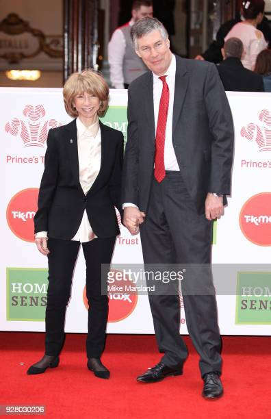 Helen Worth and Trevor Dawson attend 'The Prince's Trust' and TKMaxx with Homesense Awards at London Palladium on March 6, 2018 in London, England.