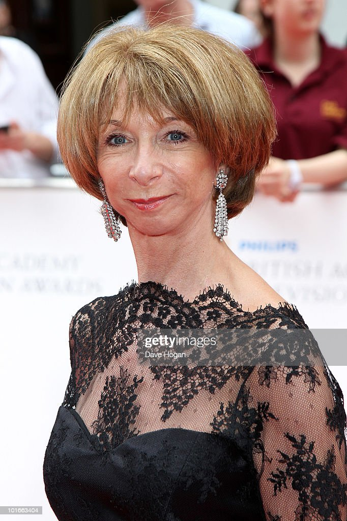 Helen Worth arrives at The Philips British Academy Television Awards held at The Palladium on June 6, 2010 in London, England.