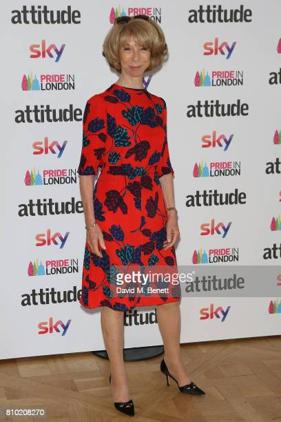 Helen Worth attends The Attitude Pride Awards 2017 at Mandarin Oriental Hyde Park on July 7, 2017 in London, England.