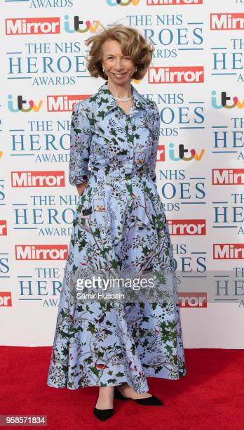 Helen Worth attends the 'NHS Heroes Awards' held at the Hilton Park Lane on May 14, 2018 in London, England.