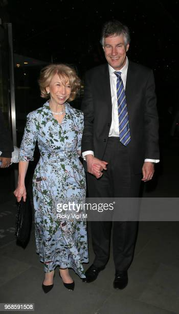 Helen Worth seen attending NHS Heroes Awards at London Hilton Park Lane on May 14, 2018 in London, England.