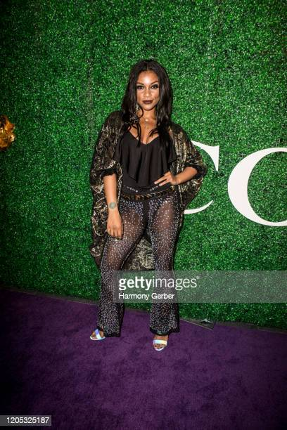 Helena Alexis Seymour attends the 3rd Annual Griot Gala Oscars After Party 2020 Hosted By Michael K. Williams at Ocean Prime on February 09, 2020 in...