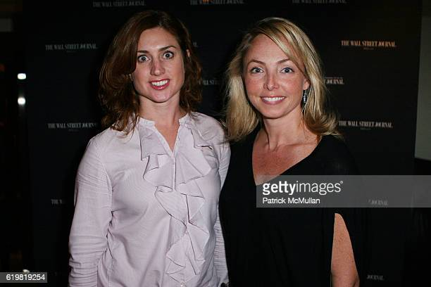 Helena Beaven and Louistte Geiss attend THE WALL STREET JOURNAL CELEBRATES WSJ.COM at Huntley Hotel on October 15, 2008 in Santa Monica, CA.