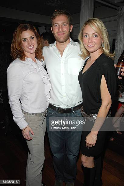 Helena Beaven, Jeff Applebaum and Louisette Geiss attend THE WALL STREET JOURNAL CELEBRATES WSJ.COM at The Huntley Hotel on October 15, 2008 in Santa...