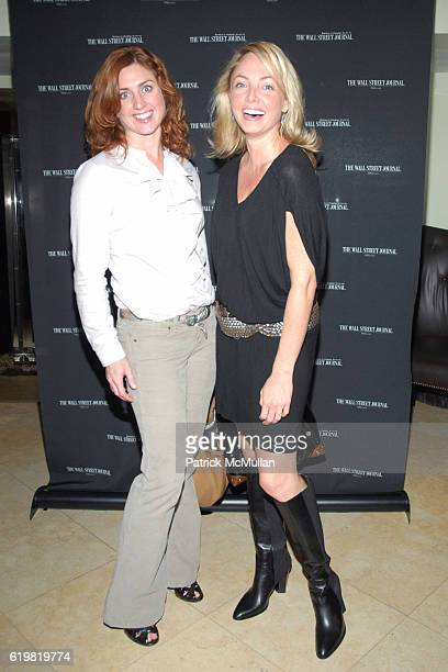Helena Beavens and Louisette Geiss attend THE WALL STREET JOURNAL CELEBRATES WSJ.COM at The Huntley Hotel on October 15, 2008 in Santa Monica, CA.