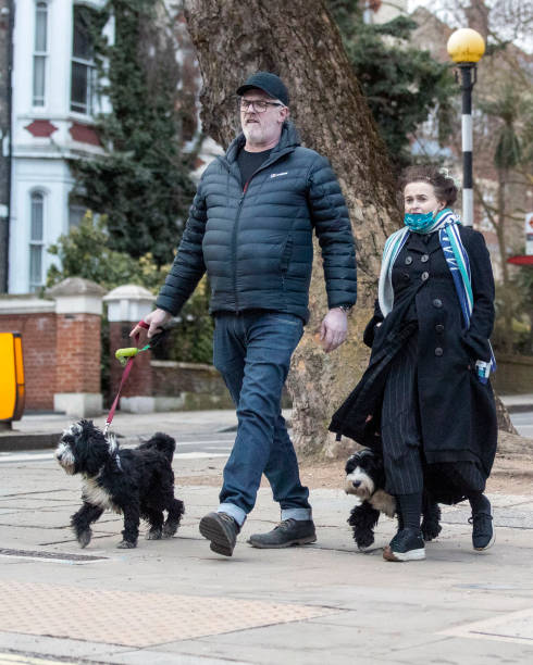 GBR: London Celebrity Sightings - March 5, 2021