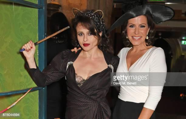 Helena Bonham Carter and Natasha Kaplinsky attend Save The Children's Magical Winter Gala celebrating the 20th anniversary since the publication of...