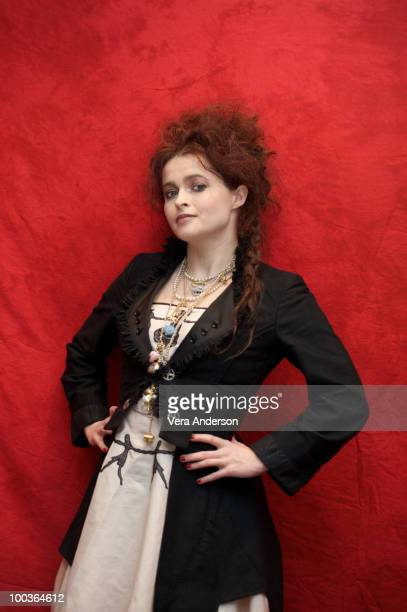 Helena Bonham Carter at the 'Alice In Wonderland' press conference at the Renaissance Hollywood Hotel on February 20 2010 in Hollywood California
