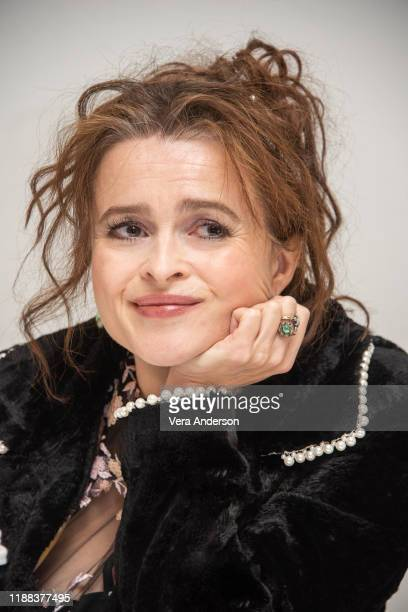 Helena Bonham Carter at The Crown Press Conference at the Four Seasons Hotel on November 15 2019 in Beverly Hills California