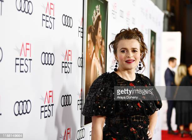 Helena Bonham Carter attend AFI Fest The Crown Peter Morgan Tribute at TCL Chinese Theatre on November 16 2019 in Hollywood California