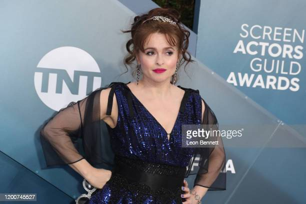Helena Bonham Carter attends 26th Annual Screen Actors Guild Awards at The Shrine Auditorium on January 19, 2020 in Los Angeles, California.