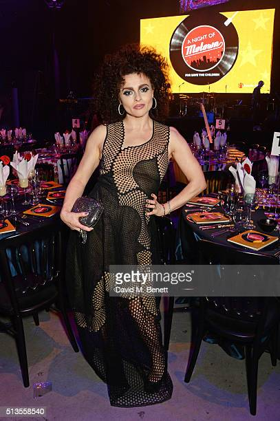 Helena Bonham Carter attends 'A Night Of Motown' for Save The Children UK at The Roundhouse on March 3 2016 in London England
