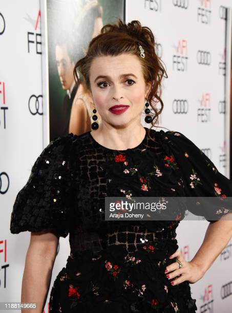 Helena Bonham Carter attends AFI Fest The Crown Peter Morgan Tribute at TCL Chinese Theatre on November 16 2019 in Hollywood California