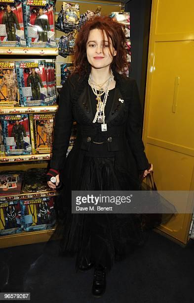 Helena Bonham Carter attends Hamleys' 250th Birthday Party at Hamleys on February 11 2010 in London England