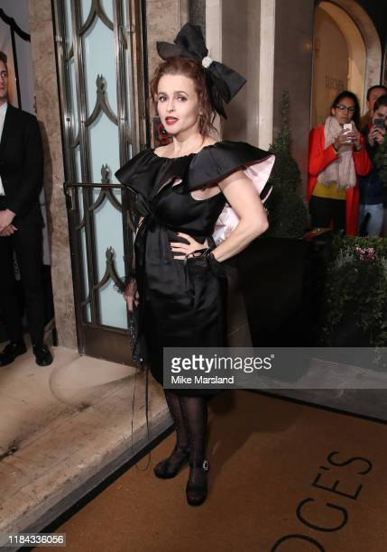 Helena Bonham Carter attends Harper's Bazaar Women Of The Year Awards 2019 at Claridge's Hotel on October 29 2019 in London England