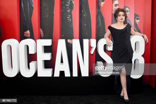 Helena Bonham Carter attends 'Ocean's 8' World Premiere at Alice Tully Hall on June 5 2018 in New York City