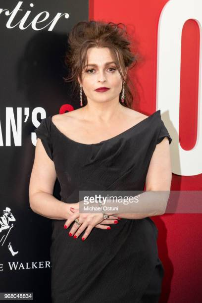 Helena Bonham Carter attends Ocean's 8 World Premiere at Alice Tully Hall on June 5 2018 in New York City