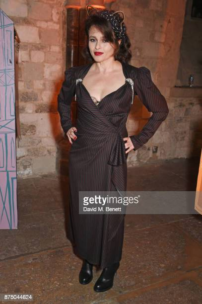 Helena Bonham Carter attends Save The Children's Magical Winter Gala celebrating the 20th anniversary since the publication of the first of JK...