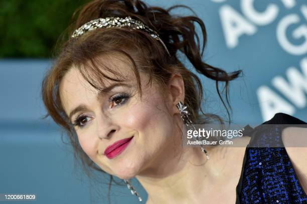 Helena Bonham Carter attends the 26th Annual Screen Actors Guild Awards at The Shrine Auditorium on January 19, 2020 in Los Angeles, California.
