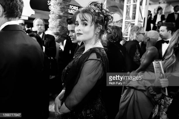 Helena Bonham Carter attends the 26th Annual Screen Actors Guild Awards at The Shrine Auditorium on January 19 2020 in Los Angeles California