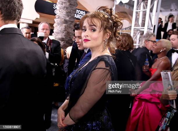 Helena Bonham Carter attends the 26th Annual Screen ActorsGuild Awards at The Shrine Auditorium on January 19, 2020 in Los Angeles, California.