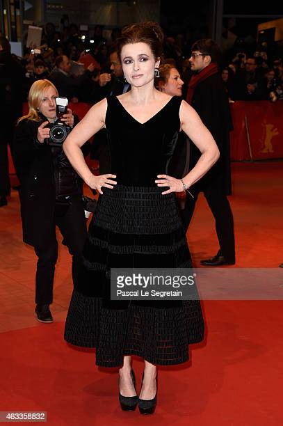 Helena Bonham Carter attends the 'Cinderella' premiere during the 65th Berlinale International Film Festival at Berlinale Palace on February 13 2015...
