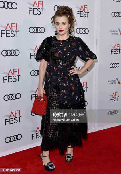 Helena Bonham Carter attends The Crown Premiere at AFI FEST 2019 presented by Audi at TCL Chinese Theatre on November 16 2019 in Hollywood California
