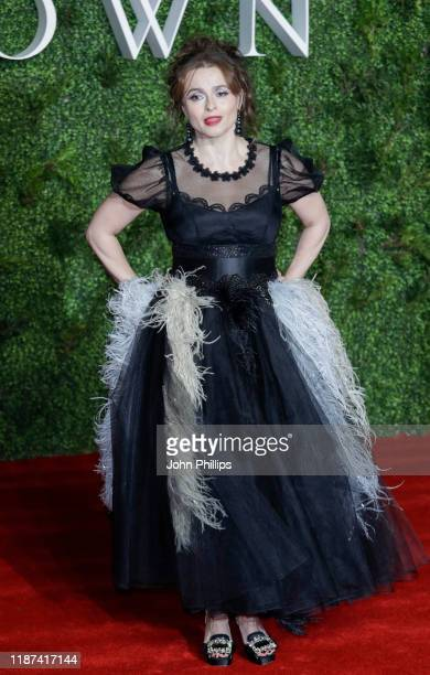 """Helena Bonham Carter attends """"The Crown"""" season 3 world premiere at The Curzon Mayfair on November 13, 2019 in London, England."""