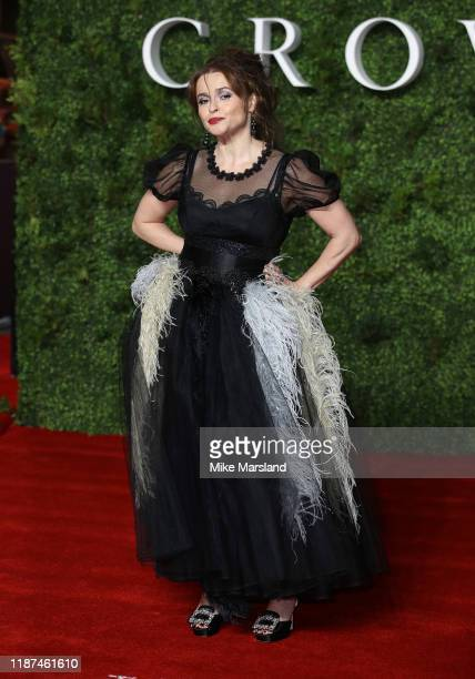 "Helena Bonham Carter attends ""The Crown"" Season 3 world premiere at The Curzon Mayfair on November 13, 2019 in London, England."