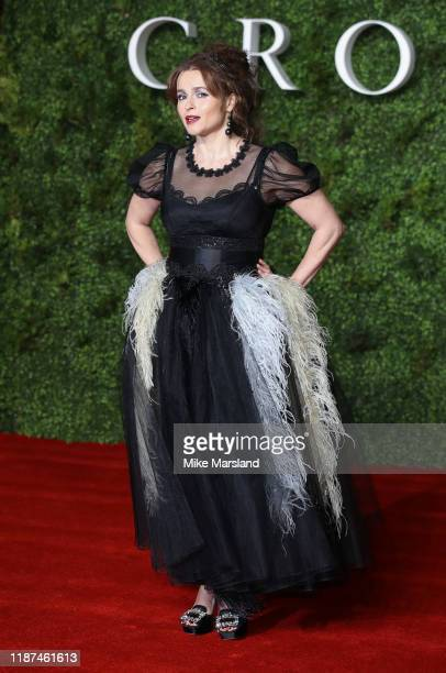 Helena Bonham Carter attends The Crown Season 3 world premiere at The Curzon Mayfair on November 13 2019 in London England