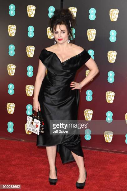 Helena Bonham Carter attends the EE British Academy Film Awards held at Royal Albert Hall on February 18 2018 in London England