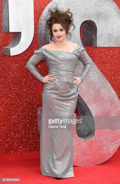 Helena Bonham Carter attends the European Premiere of 'Ocean's 8' at Cineworld Leicester Square on June 13 2018 in London England