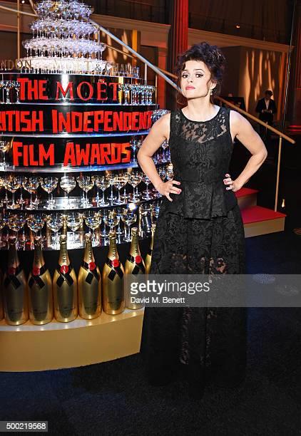 Helena Bonham Carter attends the Moet British Independent Film Awards 2015 at Old Billingsgate Market on December 6 2015 in London England