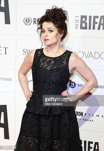 Helena Bonham Carter attends the Moet British Independent Film Awards at Old Billingsgate Market on December 6 2015 in London England