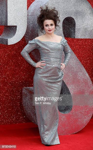 Helena Bonham Carter attends the 'Ocean's 8' UK Premiere held at Cineworld Leicester Square on June 13 2018 in London England
