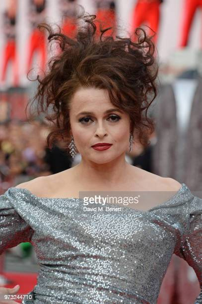Helena Bonham Carter attends the Ocean's 8 UK Premiere held at Cineworld Leicester Square on June 13 2018 in London England