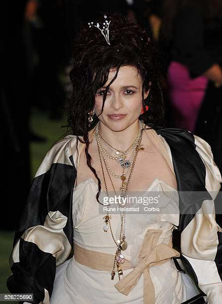 Helena Bonham Carter attends the premiere of 'Alice In Wonderland' at Odeon Leicester Square